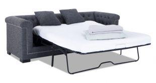 sleeper sofas melrose queen bob-o-pedic gel memory foam sleeper sofa JYVLZQS