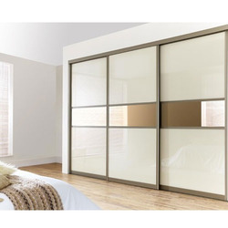 sliding wardrobe at rs 80000 /piece | sliding wardrobe | id: XKCYXHE