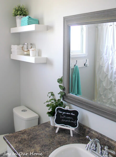 small bathroom decorating ideas bathroom decoration idea by joy in our home - shutterfly RRMMTOH
