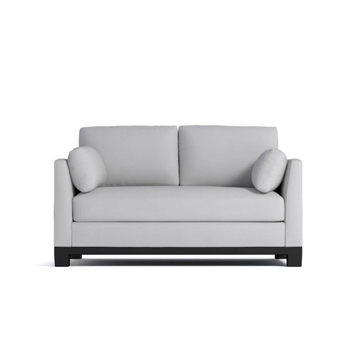 small couch this compact sofa is ideal for loft spaces or tiny alcoves. PJBTMLW
