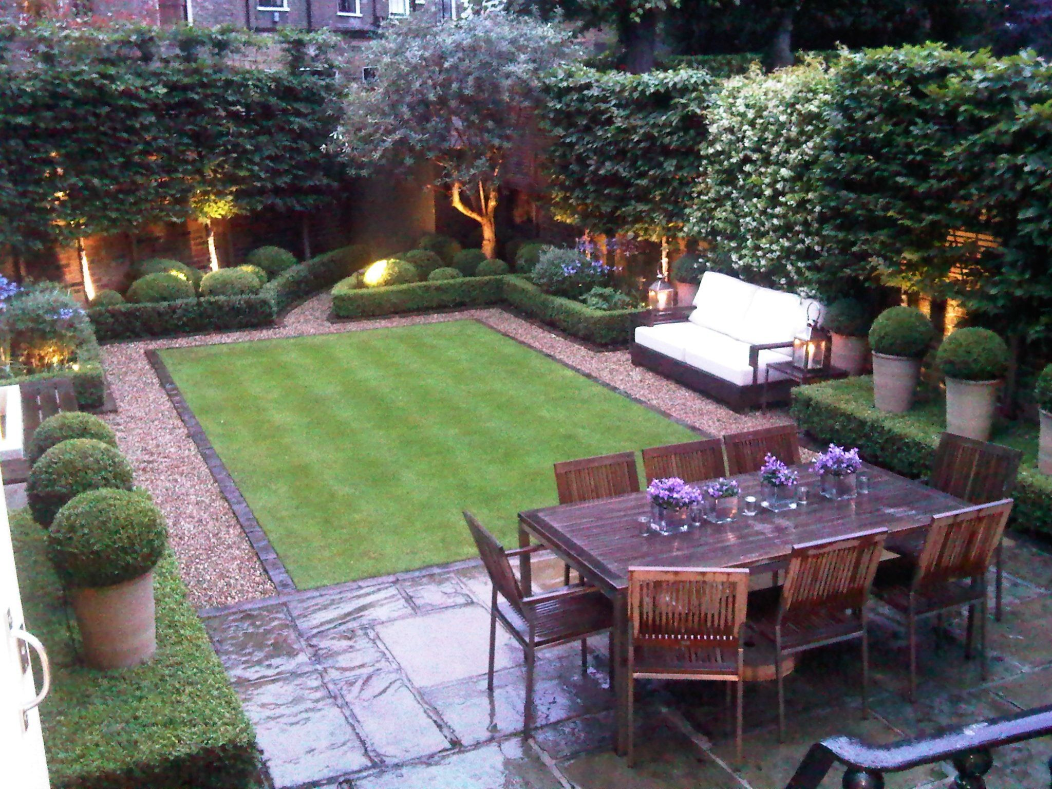 Small Garden Design Ideas Love This Small But Perfectly Designed And  Manicured Garden || Tall
