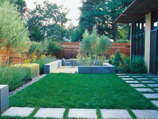 small garden design ideas minimalist garden, small lawn small garden pictures bernard trianor + OMZJHPQ