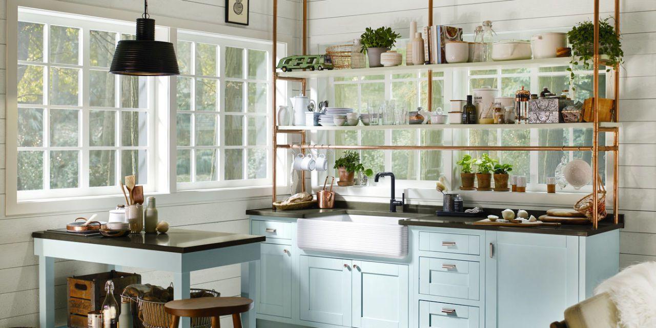 small kitchen storage courtesy of kohler EXTNSRU