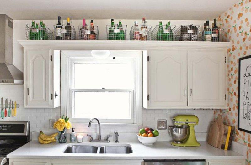 small kitchen storage (image credit: a beautiful mess) KQLMNDM
