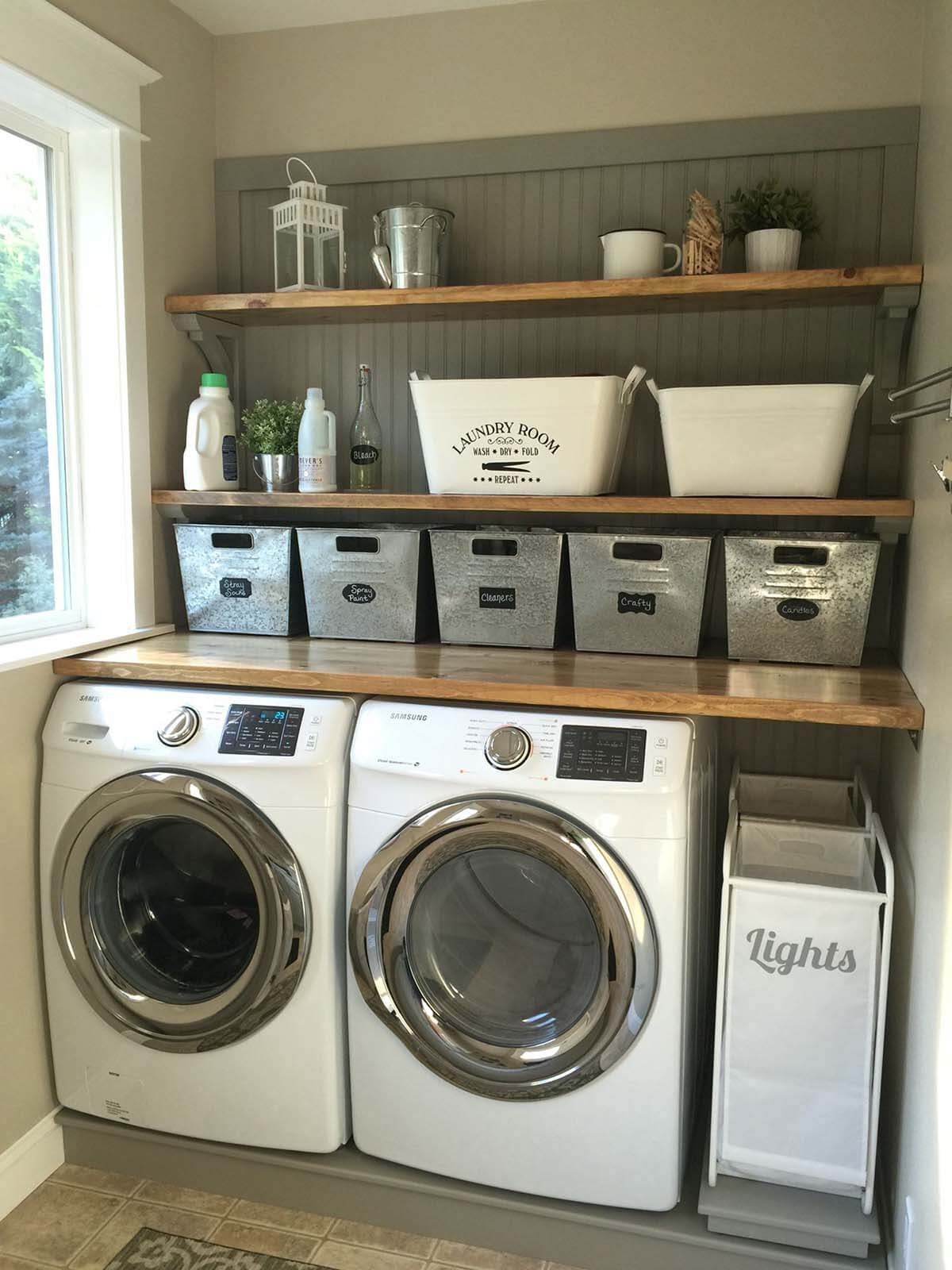 small laundry room ideas cozy country laundry room ALRYLTD