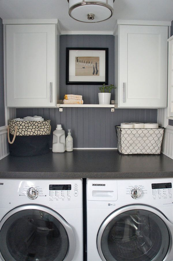 small laundry room ideas ideas at the house: 10 awesome ideas for tiny laundry spaces UTFDNQA