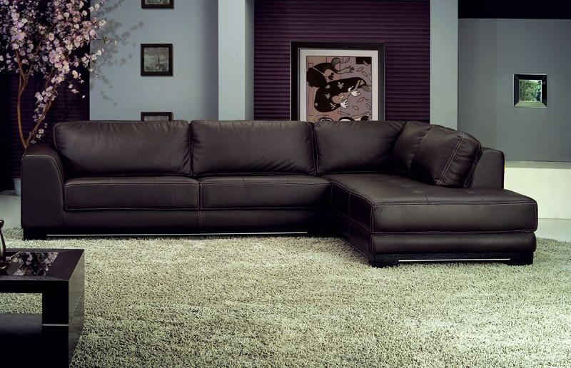 Leather sectional sofas for the living room – darbylanefurniture.com