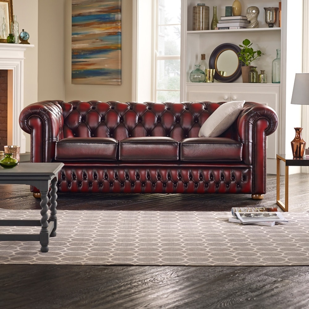 Sofa Chesterfield Chesterfield 3 Seater Sofa LOWROWA