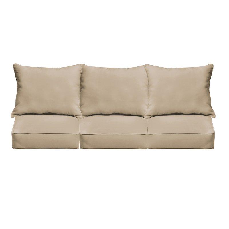sofa cushions indoor/outdoor sunbrella sofa cushion MNROUBC