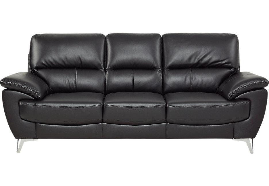sofa settee northway black sofa - sofas (black) UFDGJZC
