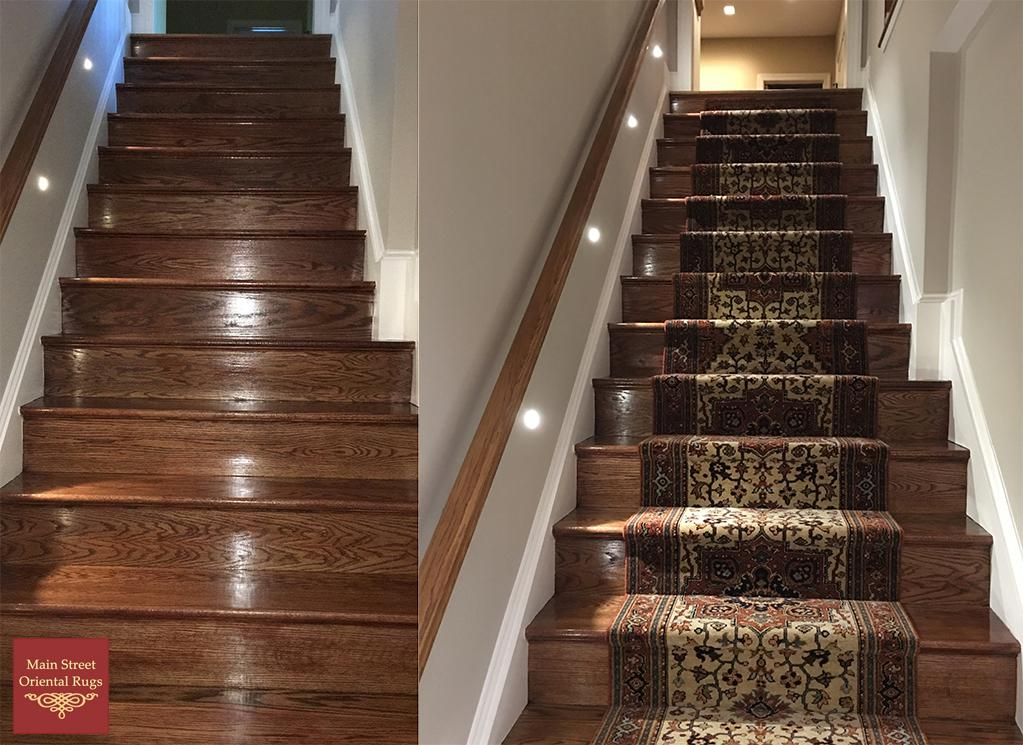stair runner installation - pattern matching EBOMSJR