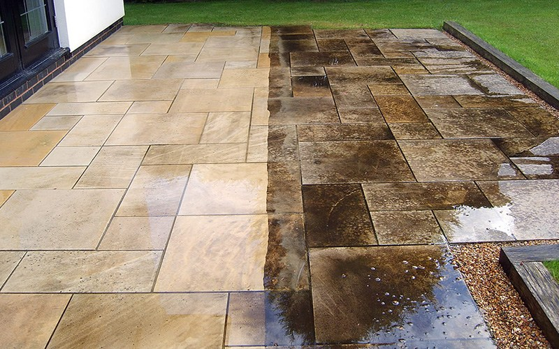stamped concrete patio IGVVXBO