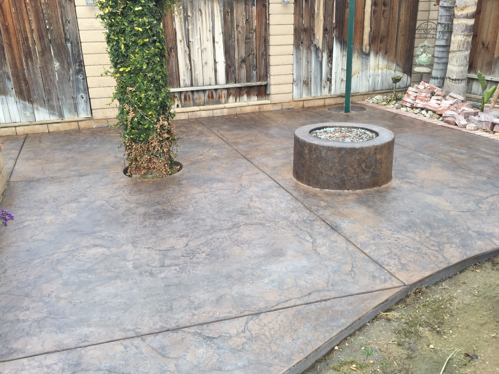 stamped concrete, retaining wall, custom concrete | bakersfield, ca OTNPXRS