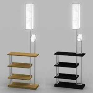 standing lamp with shelves floor lamp with shelves 7 TZJMCWQ