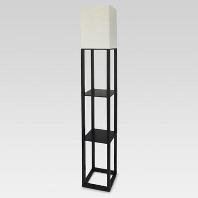 standing lamp with shelves shelf floor lamp - threshold™ UWVOEMM
