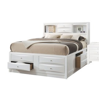 storage beds with drawers acme furniture ireland white bed with storage (3 options available) YNRVDFR