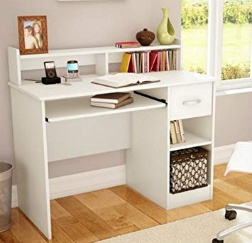 study desk amazon.com: south shore study table desk furniture, white: toys u0026 games MXBFHVS