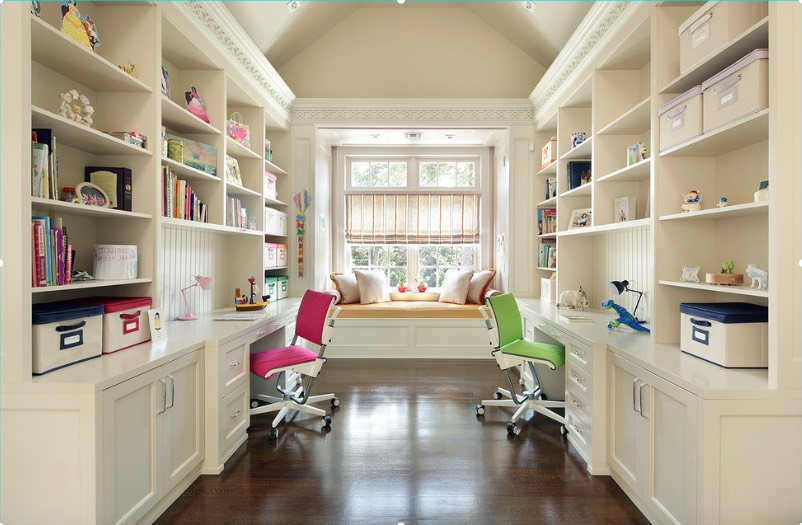 study room designs this study room has been creatively divided into three spaces: his GSTOJHL