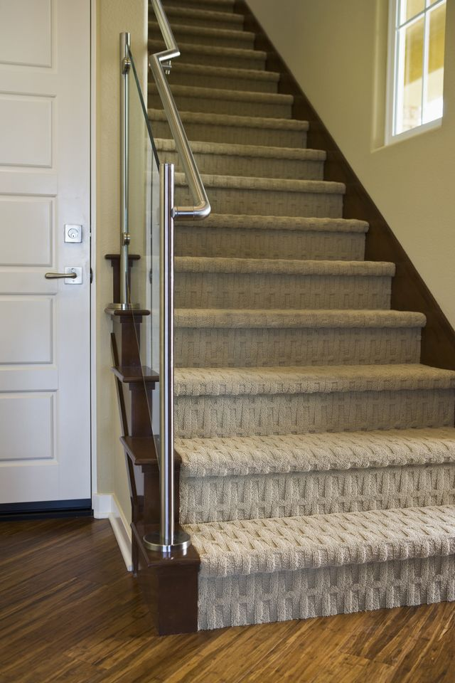 stunning carpet for stairs 8 modern staircases featuring carpet:  contemporary WIRRRHO