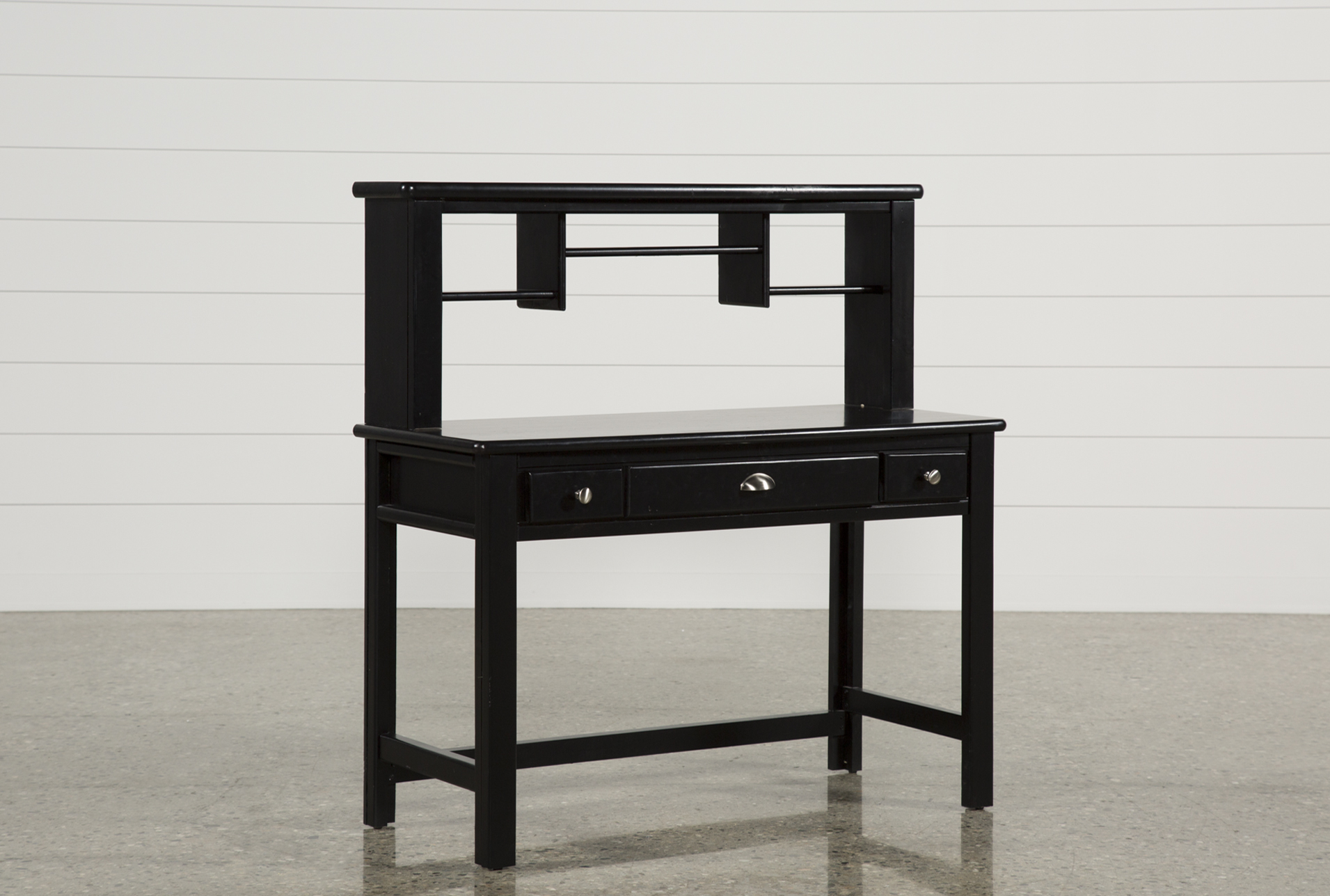summit black desk/hutch (qty: 1) has been successfully added to your FCRHXRY