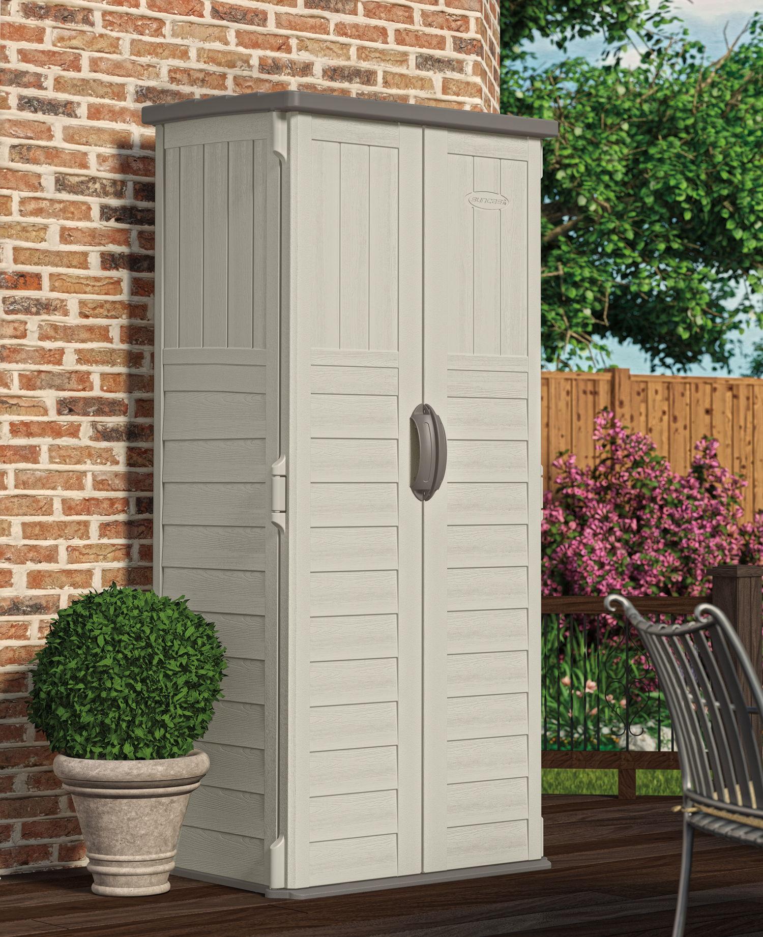 suncast 3x2 mannington plastic garden storage shed AIEUIWE