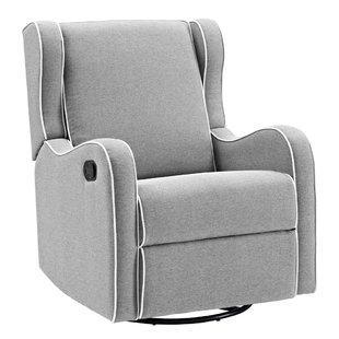 swivel rocker recliner ... reclining glider: yes. save KSBFJUY