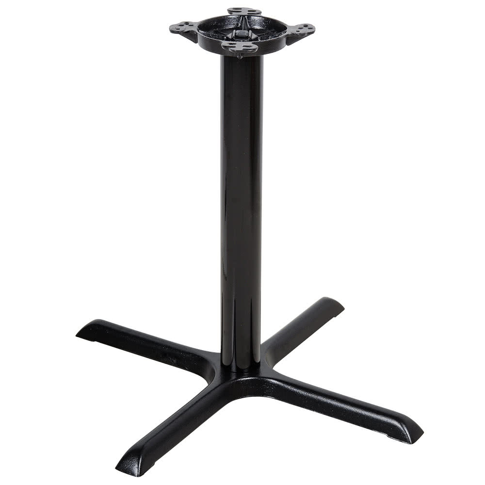 table bases lancaster table u0026 seating 30 inch black metal table base ... LMYFKSD