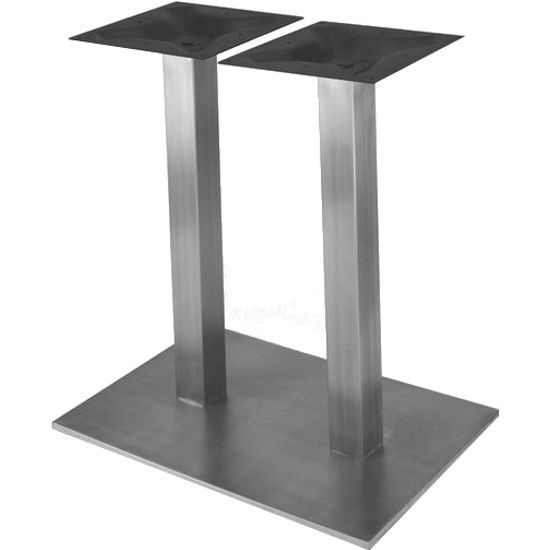 table bases stainless steel finish QFSGAAJ