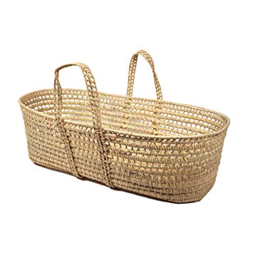 tadpoles all natural organic moses basket JHLBDVO