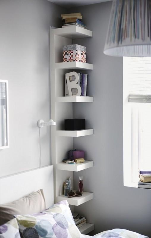 tall corner bookshelf WGIOKNM