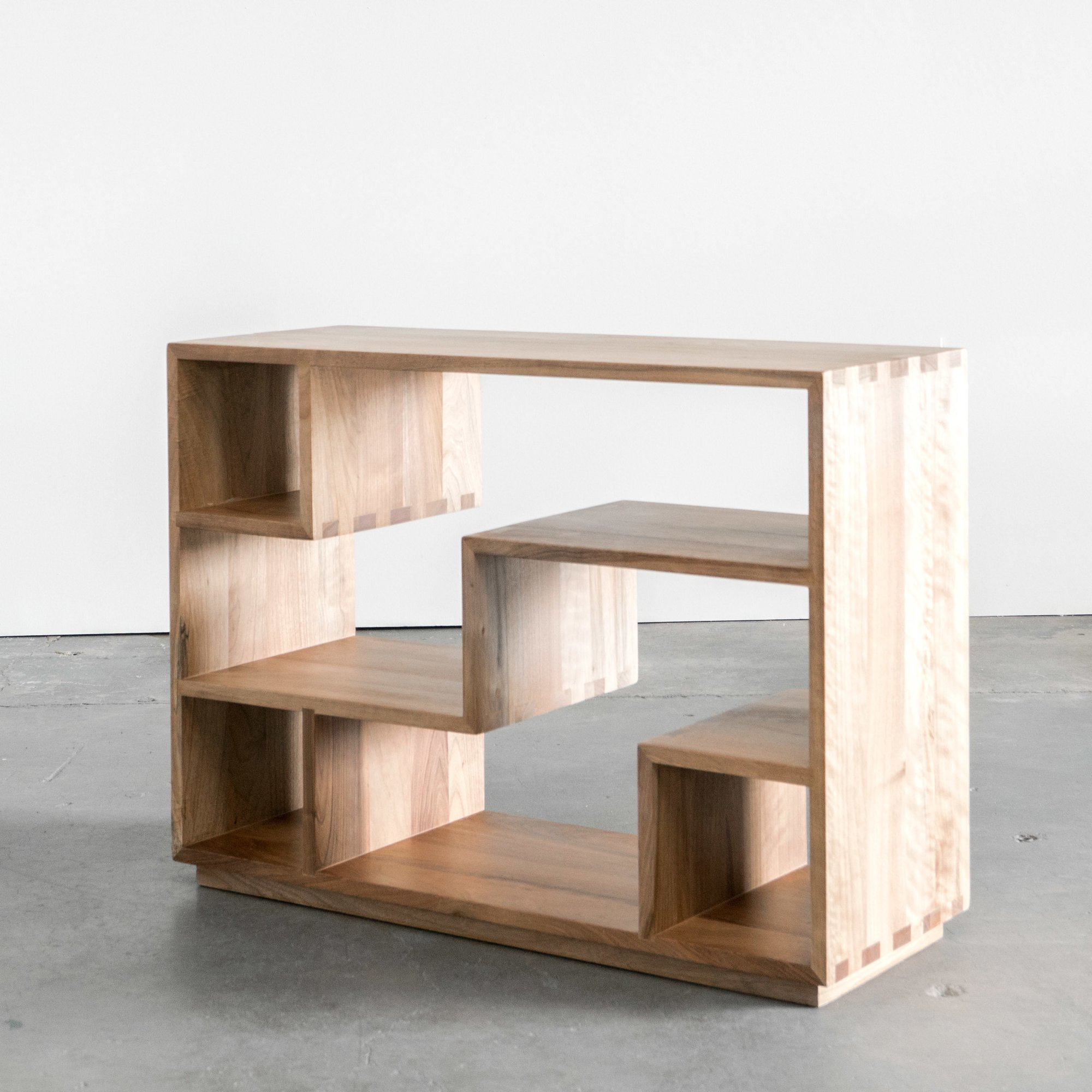 Small Bookcase Offers Storage and Decor