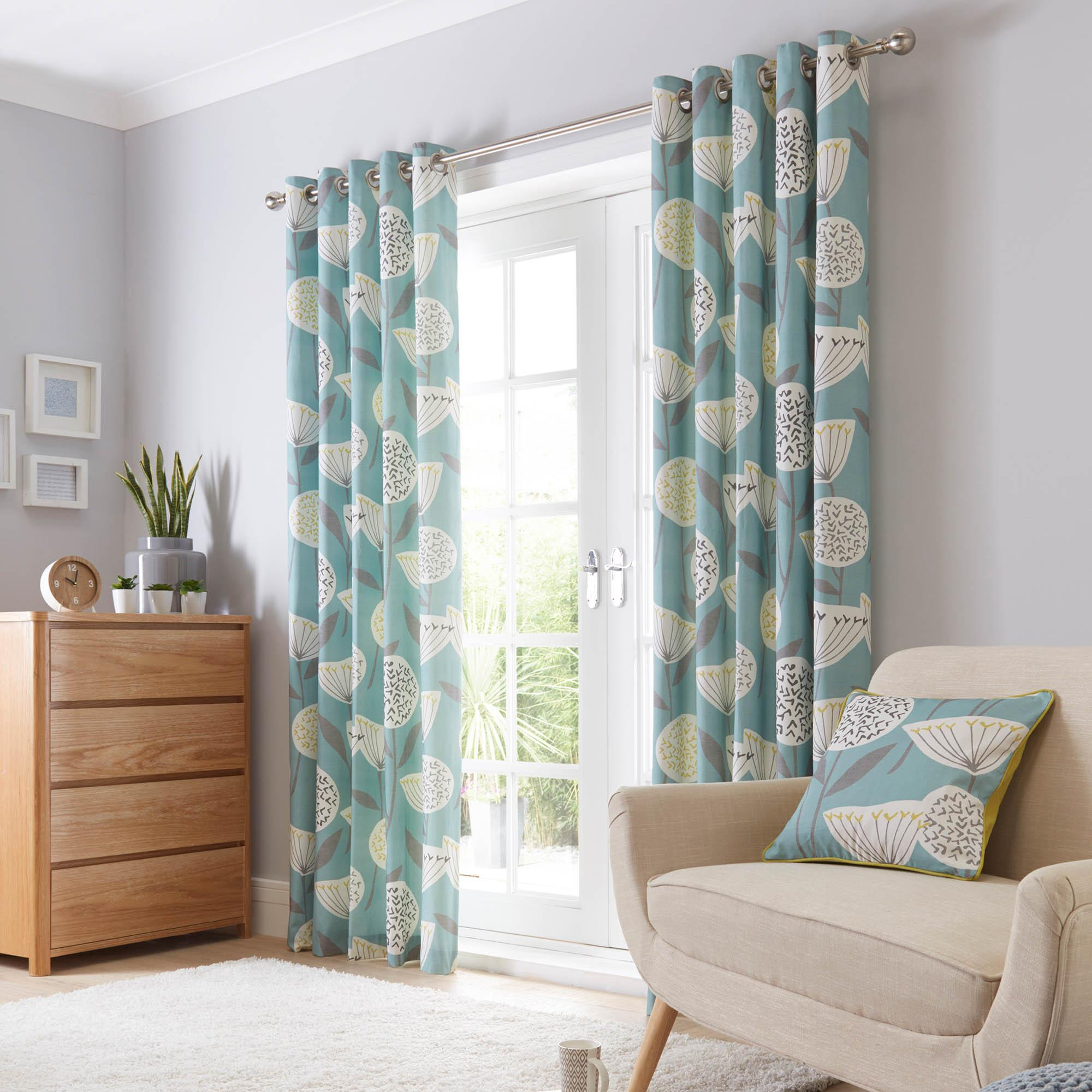 teal curtains emmott teal lined eyelet curtains GJOBJOH