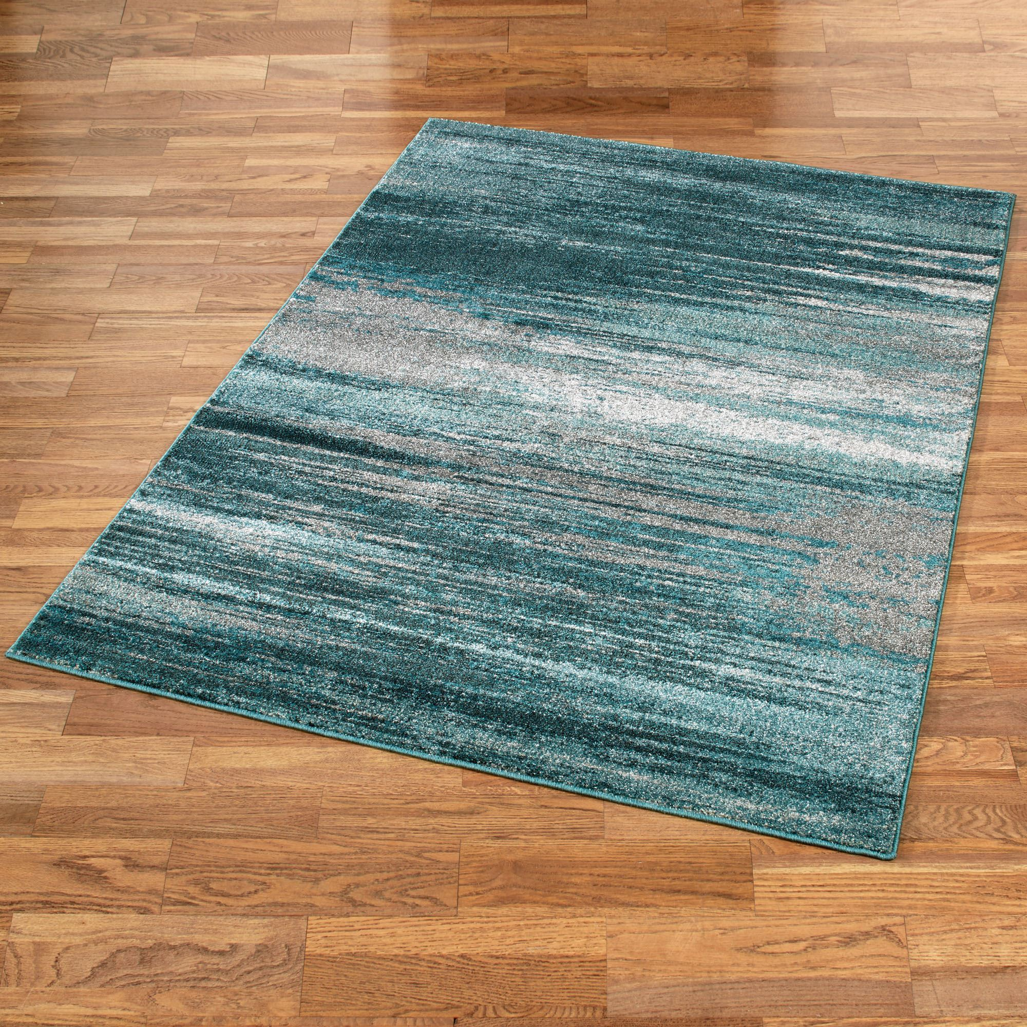 Teal Rugs Stormy Skies Rectangle Rug Wgopmxy