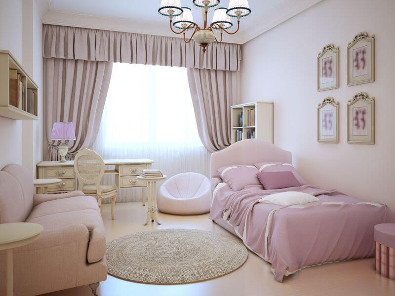 teenage girl bedroom ideas small teenage girls room with all pink decor INZRAFK