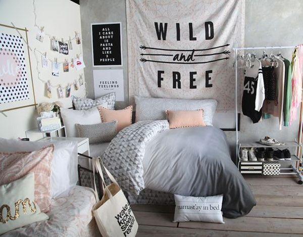 teenage girl bedroom ideas teen girls bedroom ideas black and white bedroom ideas for teens YDYZWNS