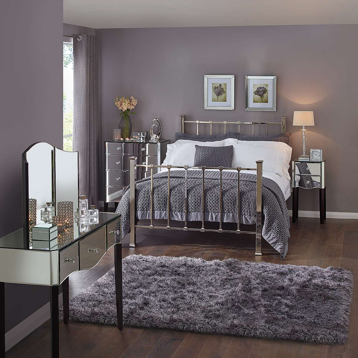 the hows and whats of mirrored bedroom furniture WYEELBV