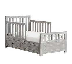 toddler beds weston toddler bed conversion kit ... XALDEBD