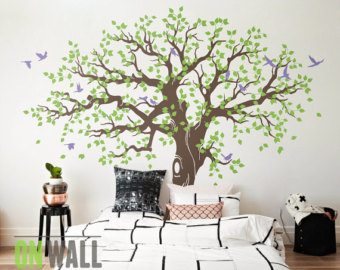 tree wall stickers large family tree wall decal ... THBEGRK
