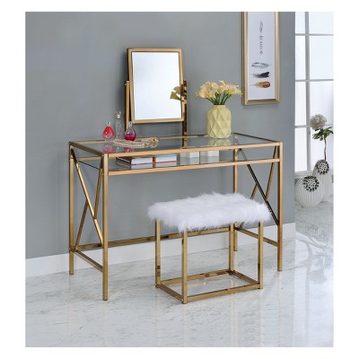 vanity desk iohomes burdette contemporary vanity table set FFHTEIX