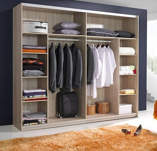 verona 11 sliding wardrobe 200cm in white gloss NLUWNSD