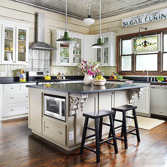 vintage kitchen kitchen SHITXQY