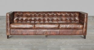 vintage leather sofa cigar antique brown top grain leather sofa gold nailheads NHRGBEU
