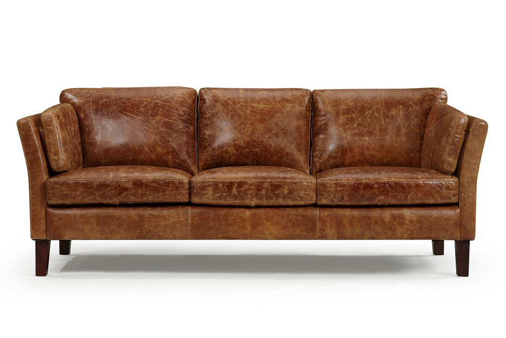 vintage leather sofa the vintage 1960 scandinavian leather sofa QYOTJGD
