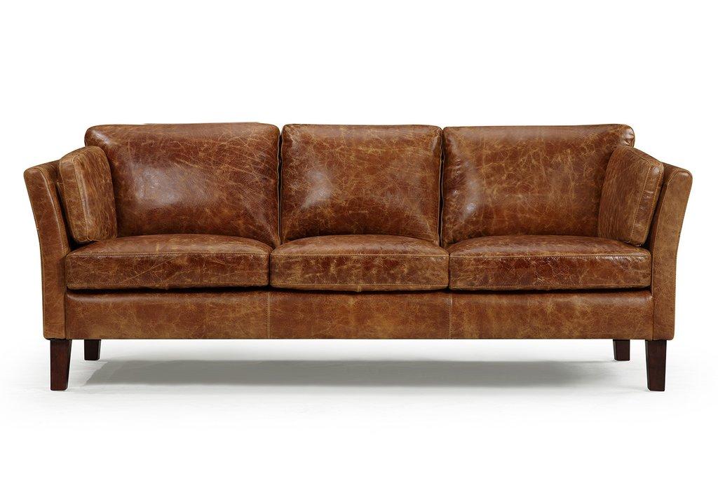 vintage leather sofa the vintage 1960 scandinavian leather sofa QYOTJGD
