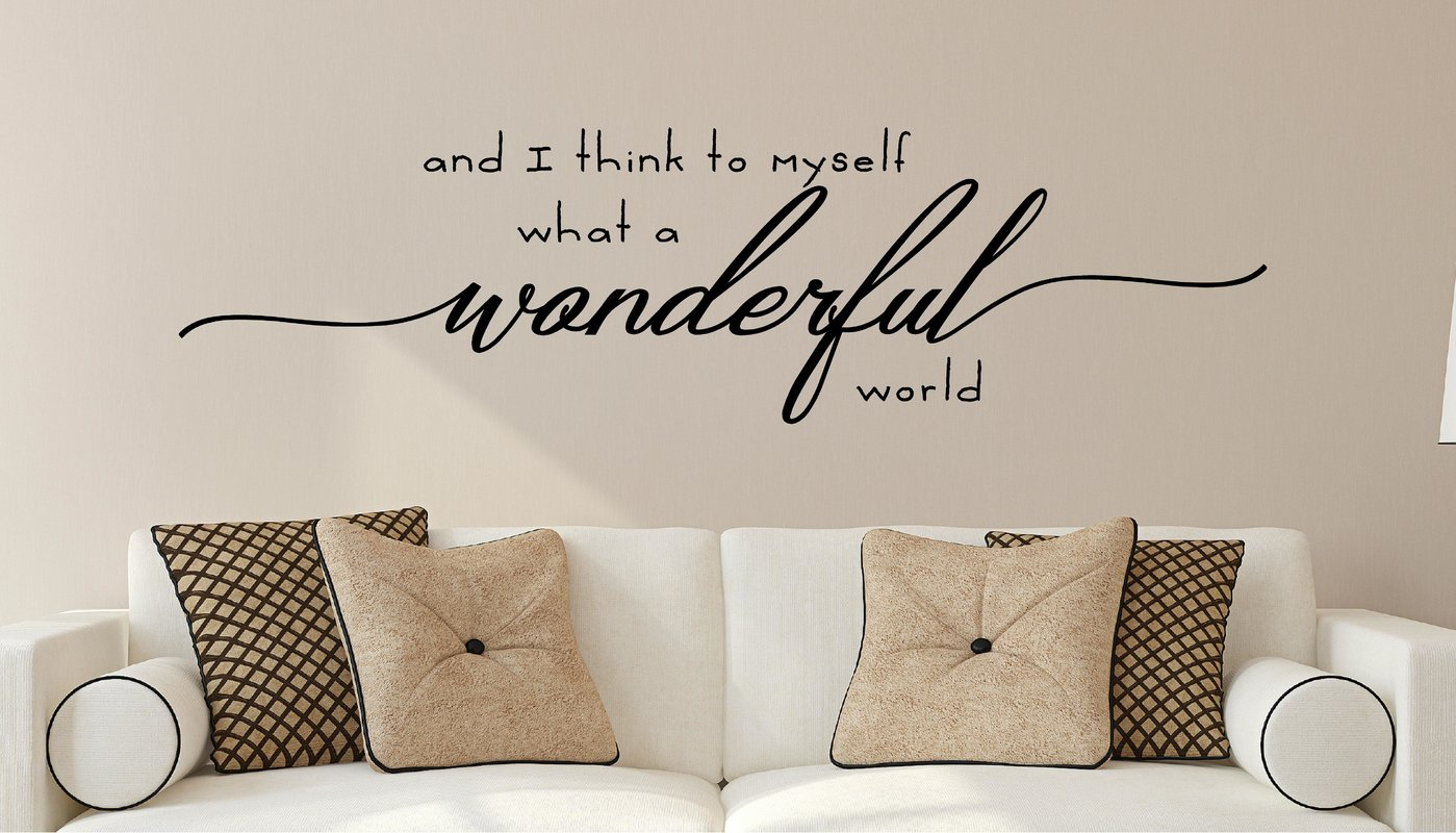 vinyl wall decals enchantingly elegant and i think to myself what XYIGVRT