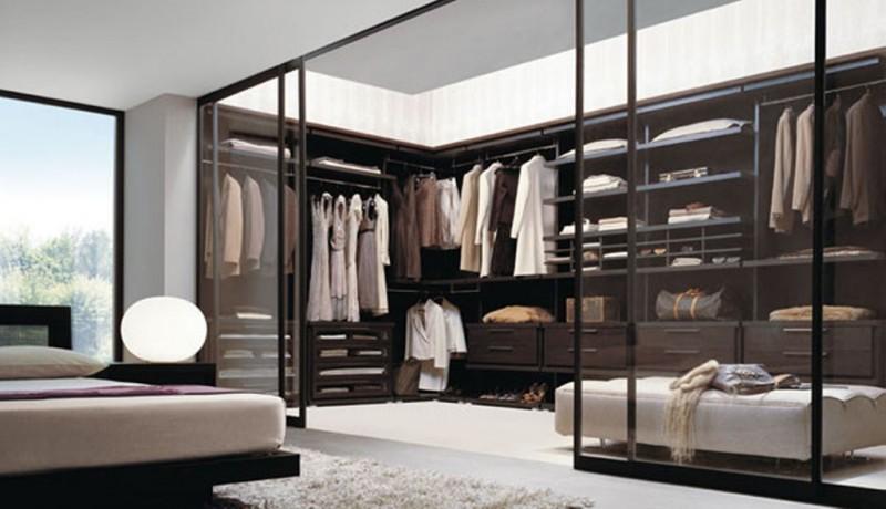 walk in wardrobes designs glass walk in closet with sliding door DVEWEDT