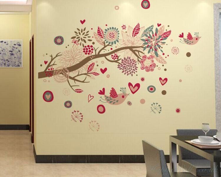 wall art stickers bohemia style tree and birds. -58% bohemia style tree and birds ADFBLLI