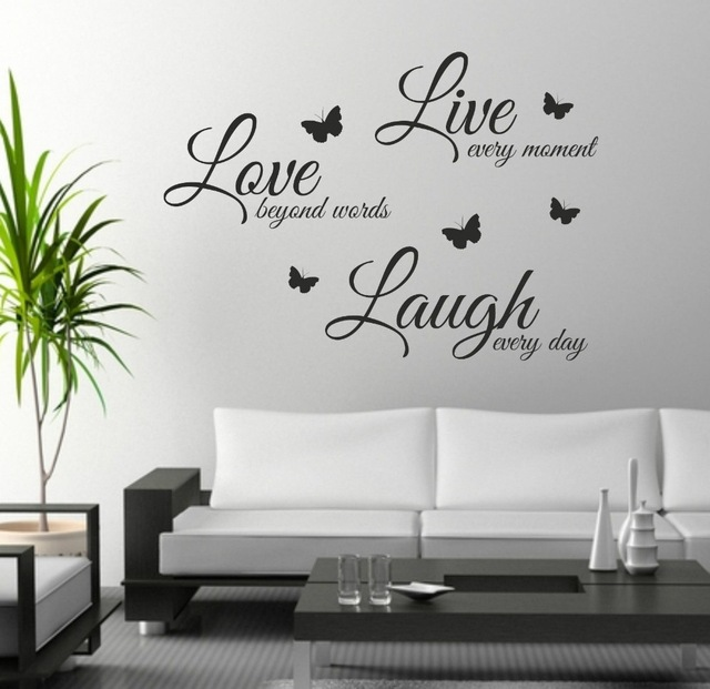 wall art stickers foodymine live laugh love wall art sticker quote wall decor wall XLWAPSS