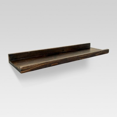 wall bookshelf wood wall shelf - medium - thresholdu0026#153; PHNBLXU