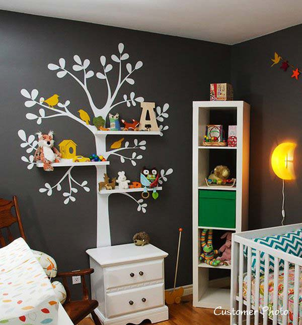 wall decoration ideas wall-tree-decorating-ideas-woohome-1 VVZZMHT